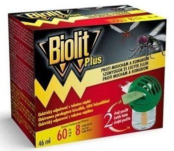 Biolit Plus el. odpuzovač proti mouchám a komárům