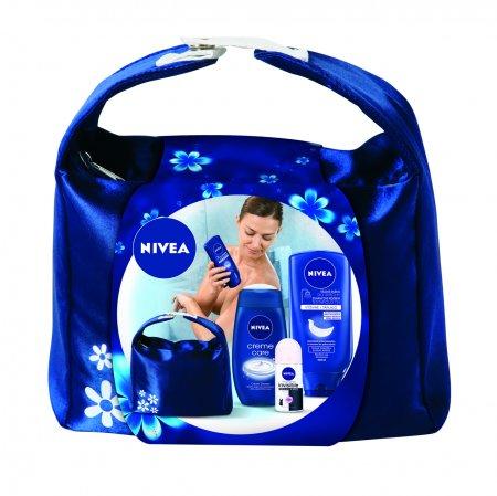 Súťaž o kozmetickú tašku Nivea Showermilk